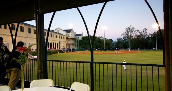 spring hill college  stonisch baseball fieldhouse