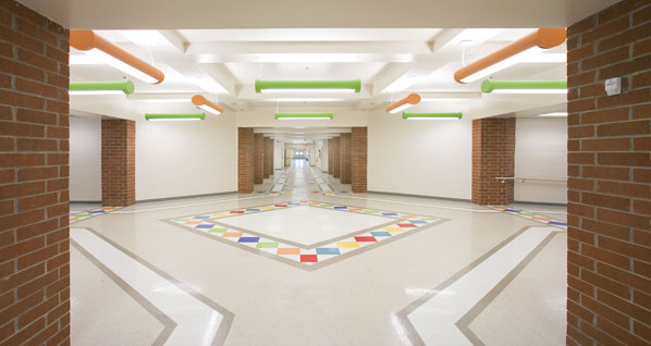 Robertsdale Elementary School The Architects Group